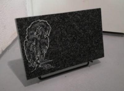 Надгробный-плит-мотив-береза НА-40x25x3см