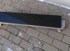Hauapiirdeplaat-15×2,5cm-must