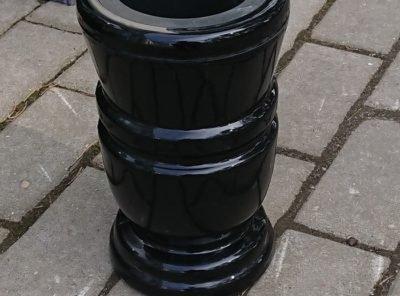 Каменная-ваза5-24×15см