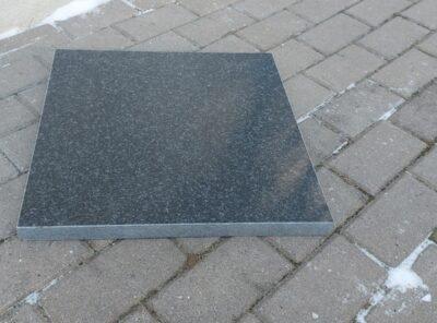 Graniitplaat nero africa 45x45x3cm